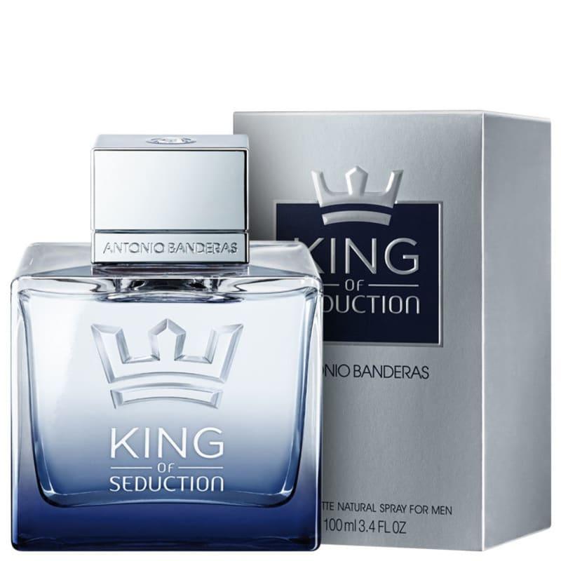 King of Seduction Eau de Toilette Antonio Banderas - Perfume Masculino 100ml
