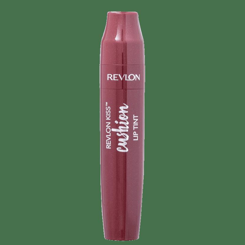 Kiss Cushion Lip Tint Revlon - Batom Líquido - Wine Trip