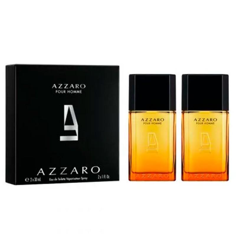 Kit Azzaro Pour Homme Masculino 2 Perfumes EDT 30ml