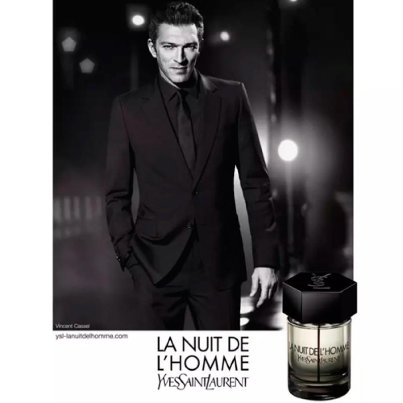 La Nuit de L'Homme Yves Saint Laurent Eau de Toilette - Perfume Masculino 60ml
