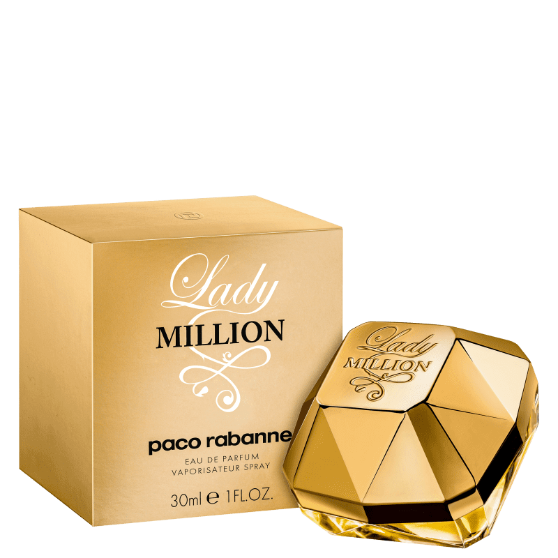 Lady Million Eau de Parfum Paco Rabanne - Perfume Feminino 50ml