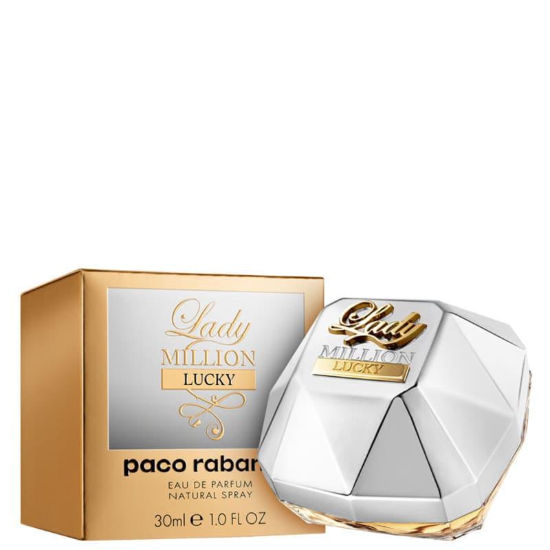 Lady Million Lucky Eau de Parfum Paco Rabanne - Perfume Feminino 30ml