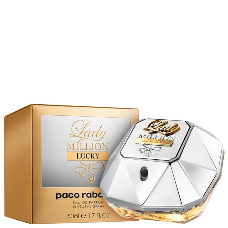 Lady Million Lucky Eau de Parfum Paco Rabanne - Perfume Feminino 50ml