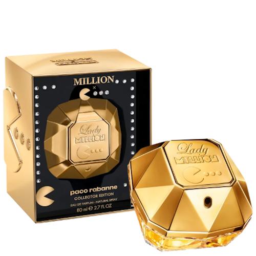 Lady Million Pacman Edição Limitada Paco Rabanne Eau de Parfum - Perfume Feminino 80ml