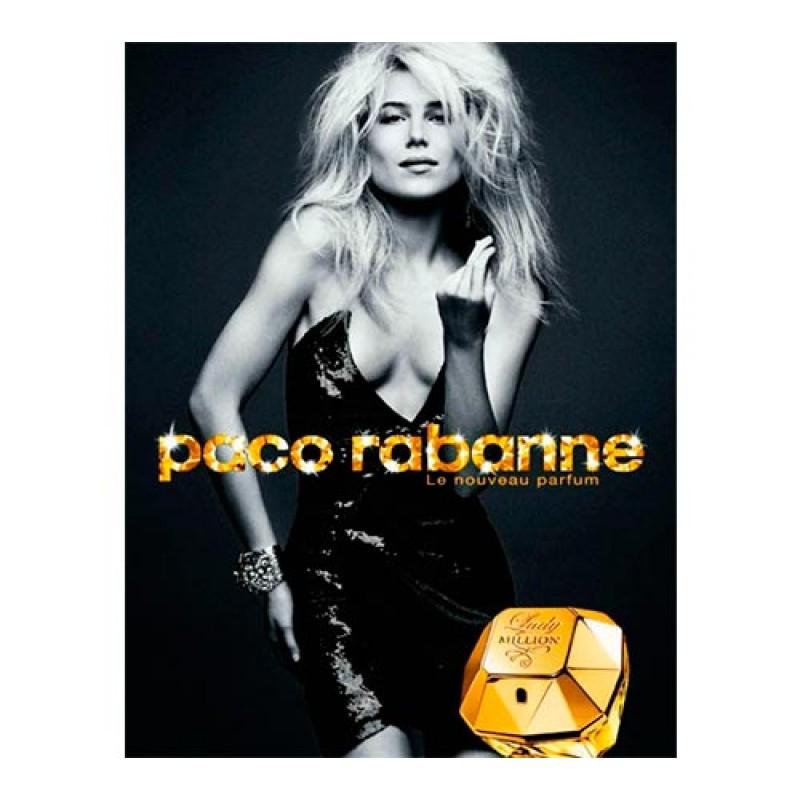 Lady Million Paco Rabanne Eau de Parfum - Perfume Feminino 50ml