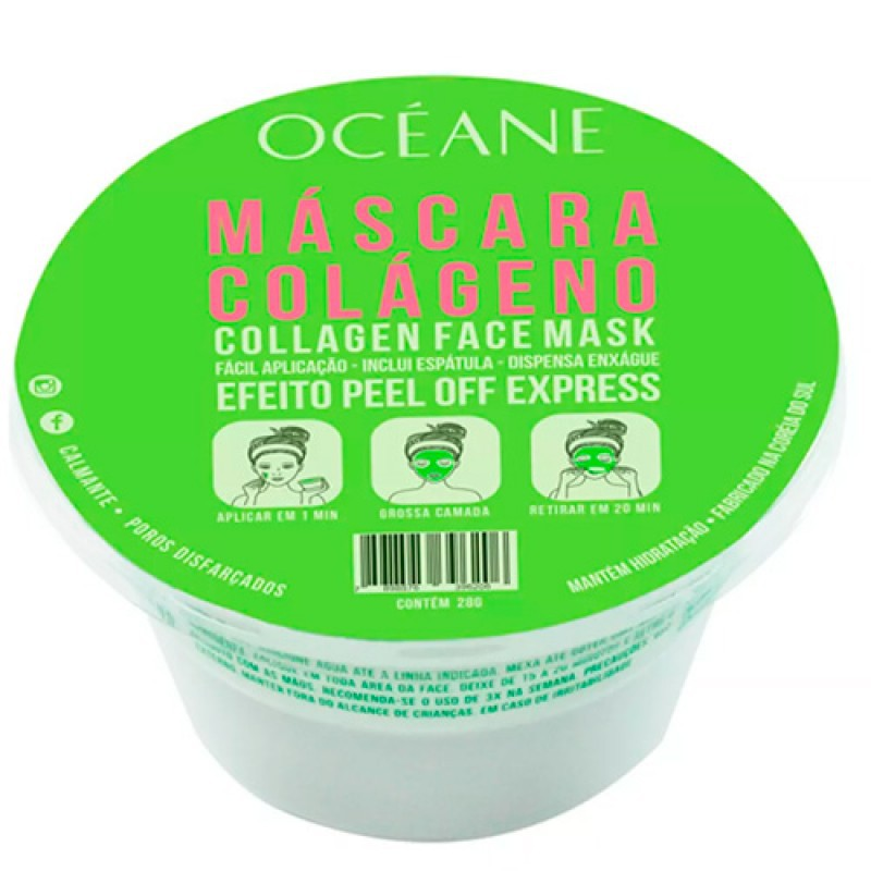 Máscara Facial Colégeno Oceane Femme