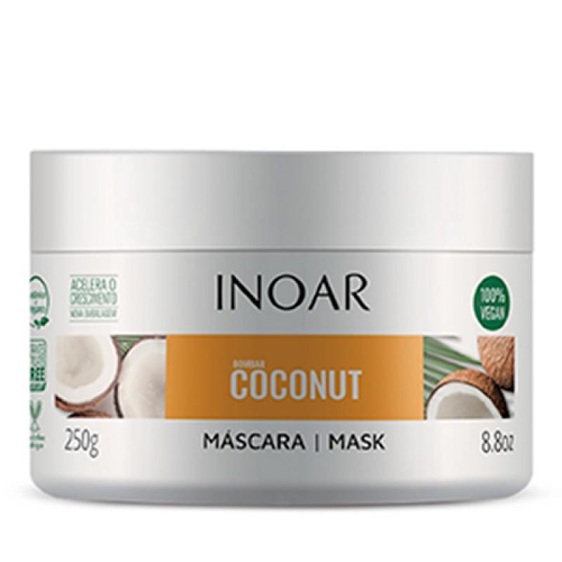 Máscara Inoar Bombar Coconut 250g