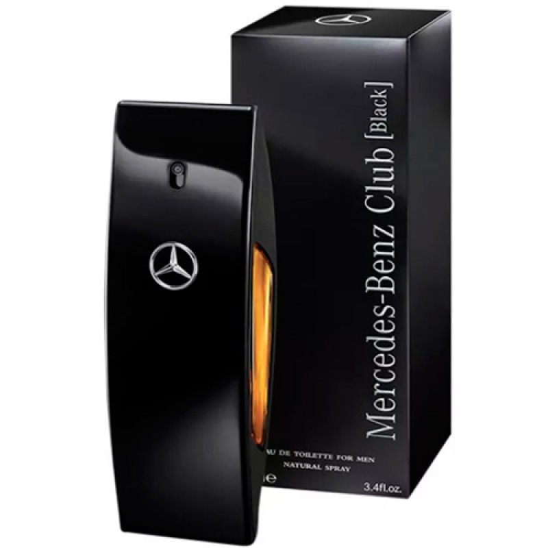 Mercedes-Benz Club Black Eau de Toilette - Perfume Masculino 100ml