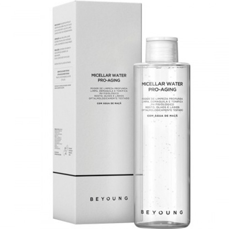 Micellar Water Pro-Aging Beyoung - Agua Micelar Demaquilante-220ml