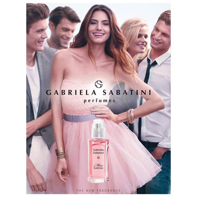 Miss Gabriela Eau de Toilette Gabriela Sabatini - Perfume Feminino 20ml