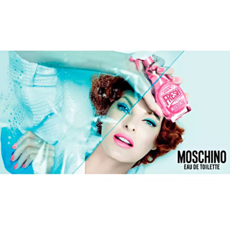 Moschino Pink Fresh Couture Eau de Toilette - Perfume Feminino 50ml