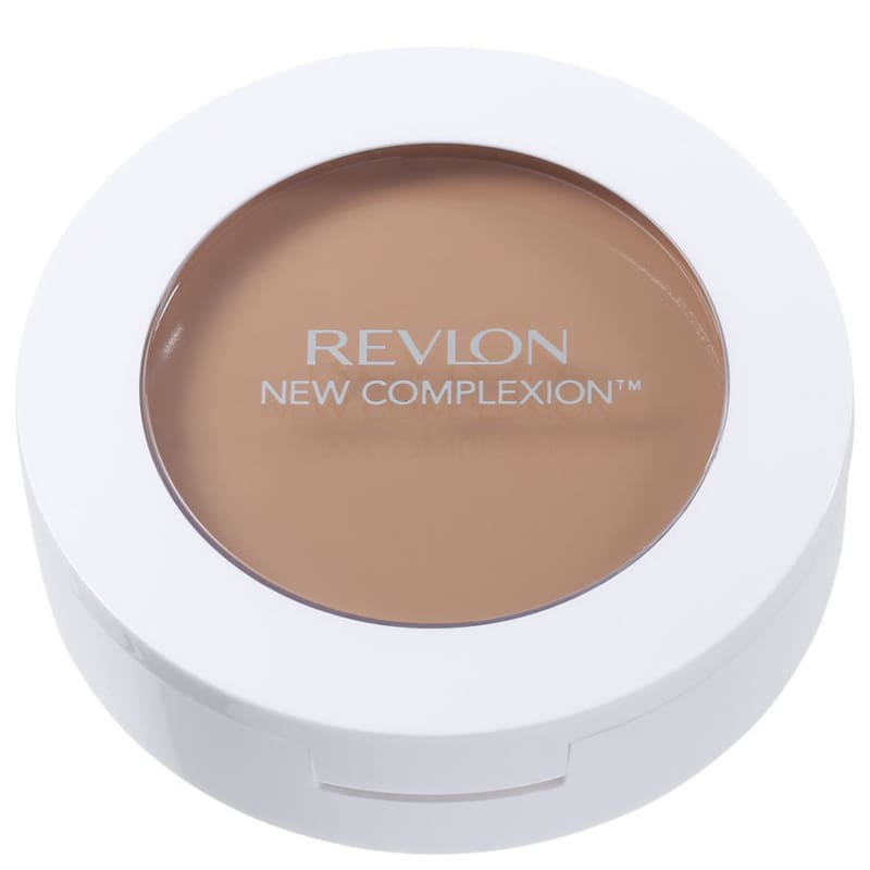 New Complexion One-Step 2 em 1 Revlon - Base Compacta Natural Beige