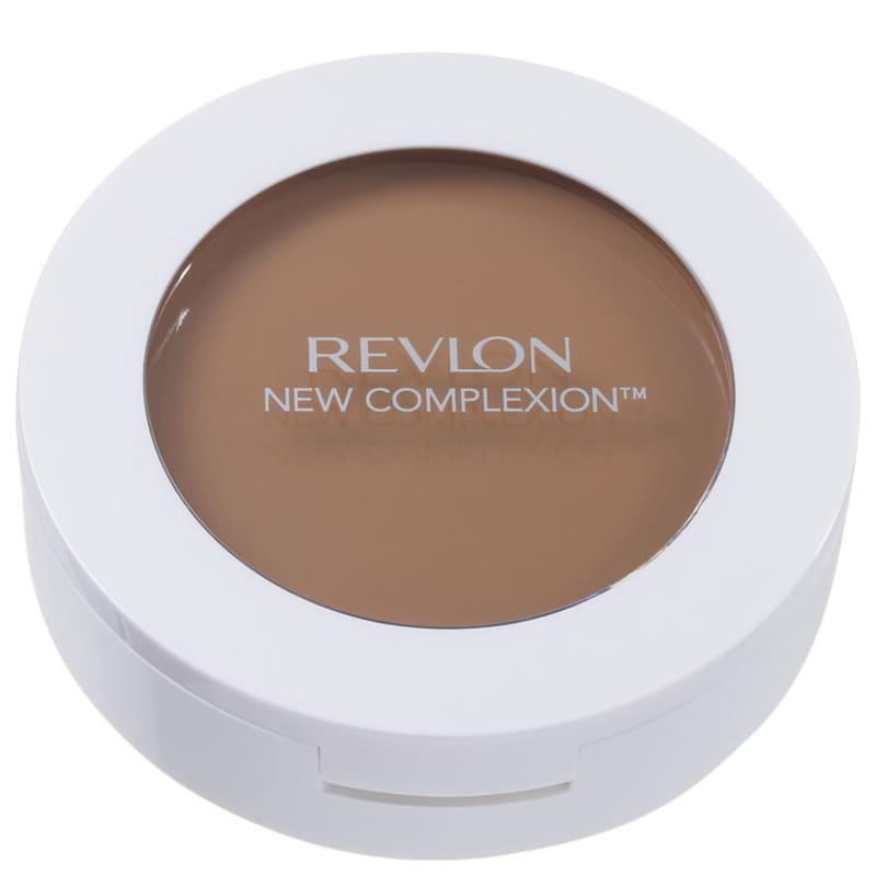 New Complexion One-Step 2 em 1 Revlon - Base Compacta Natural Tan