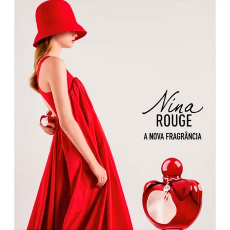 Nina Rouge Nina Ricci Eau de Toilette - Perfume Feminino 50ml