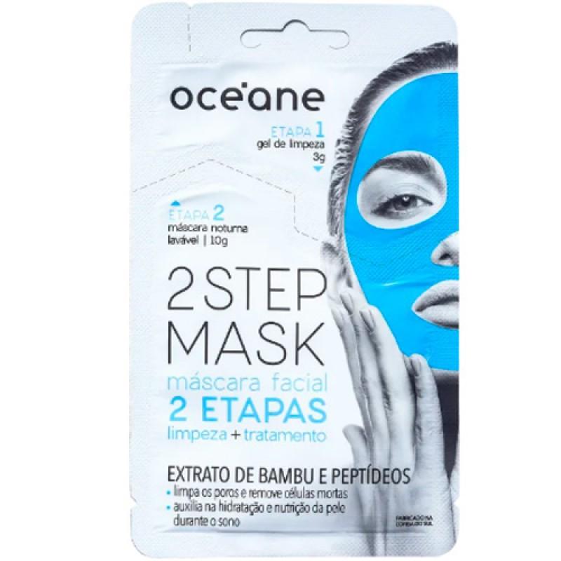 Océane 2 Step Bambu e Peptídeo - Máscara Facial