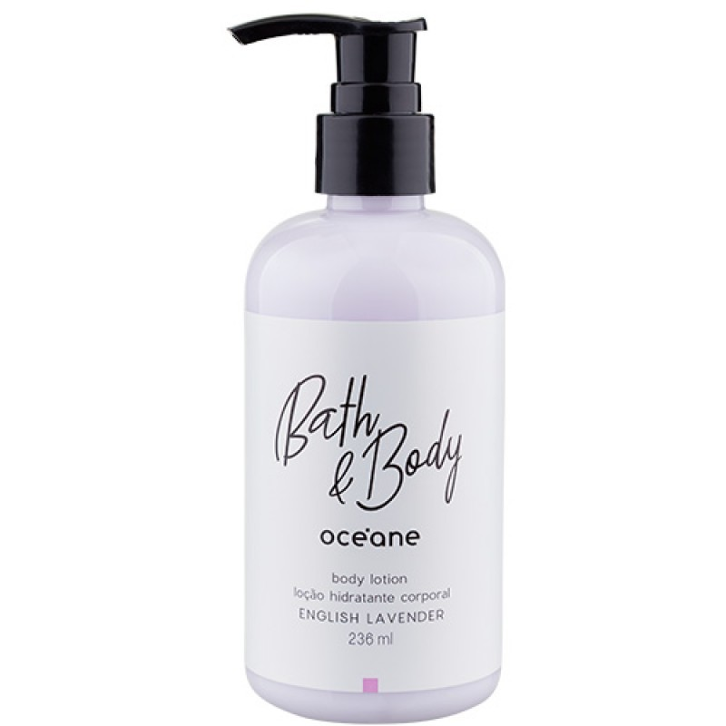 Océane Bath Body English Lavender Loção Hidratante Corporal 236ml