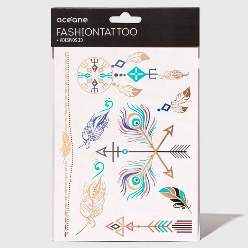 Oceane Fashion Tattoo - Tatuagem temporária FT9