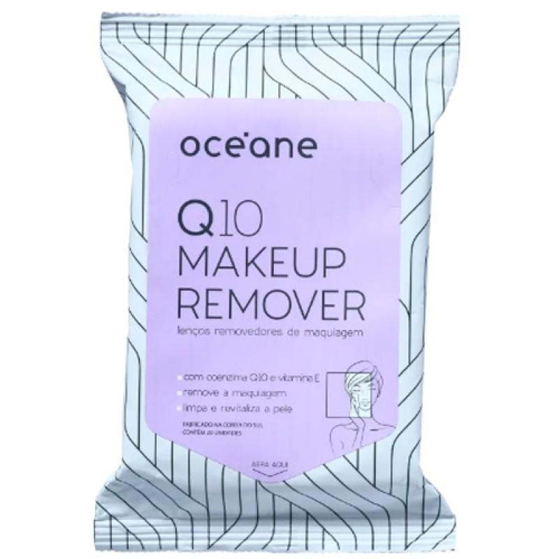 Océane Q10 Makeup - Lenço Demaquilante - 20 Unidades