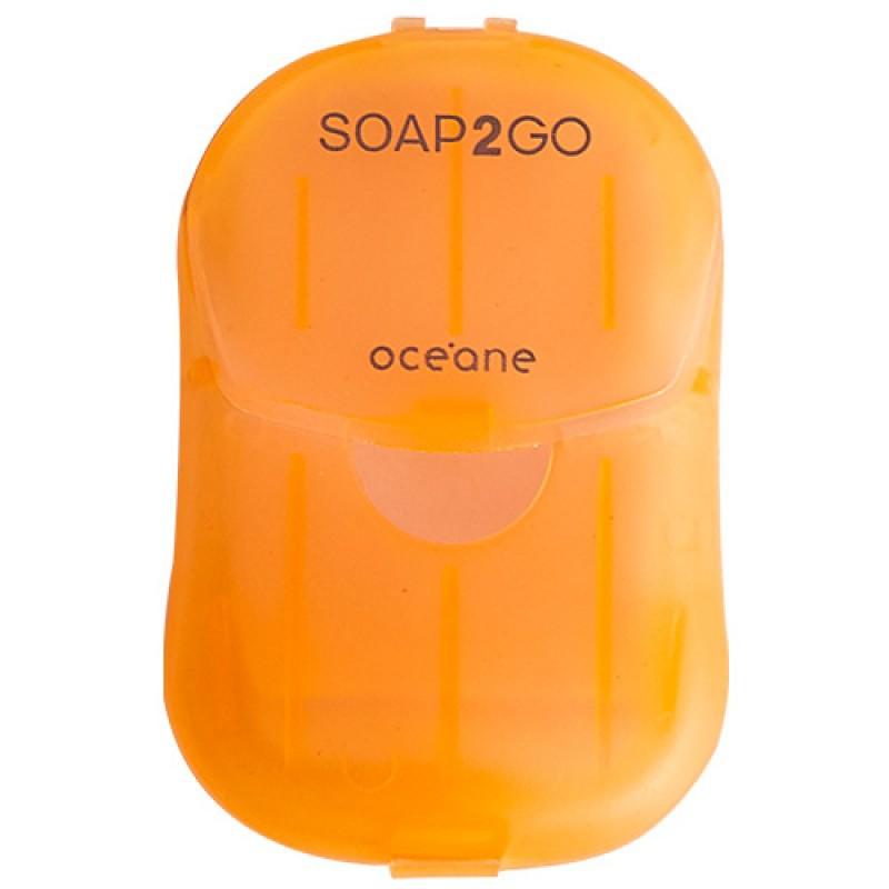 Océane Soap2Go Jasmin Sabonete em Folhas 30 unidades