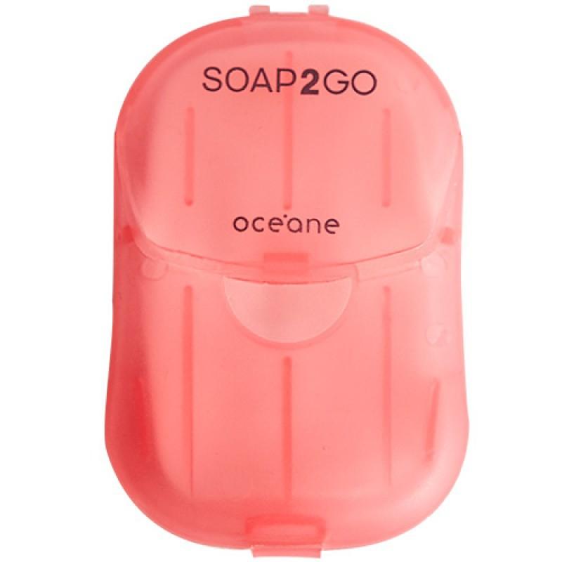 Océane Soap2Go Lírio Sabonete em Folhas 30 unidades