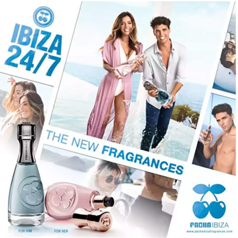 Pacha Ibiza 24/7 Her Eau de Toilette - Perfume Feminino 80ml
