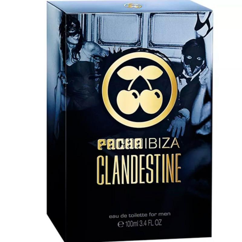 Pacha Ibiza Clandestine Eau de Toilette - Perfume Masculino 100ml