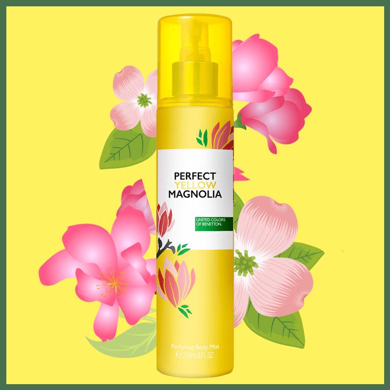 Perfect Yellow Magnolia Benetton - Perfume para o Corpo 236ml