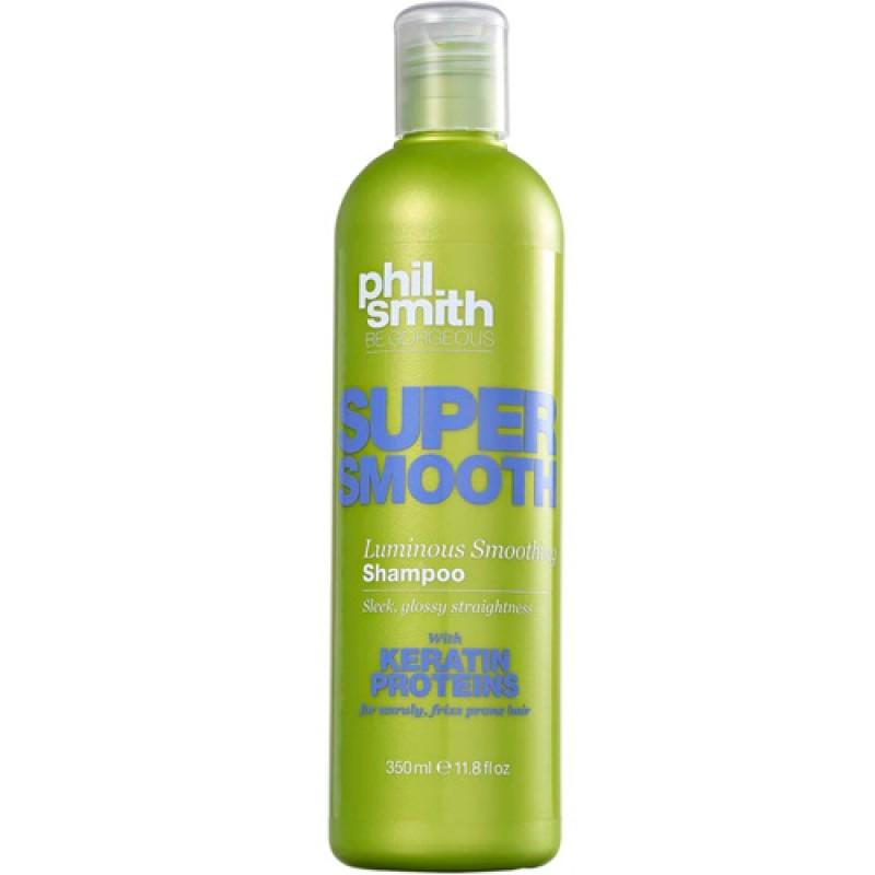 Phil Smith Super Smooth Cabelos Lisos Rebeldes- Shampoo 300ml