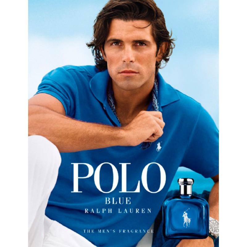 Polo Blue Ralph Lauren Eau de Toilette - Perfume Masculino 40ml