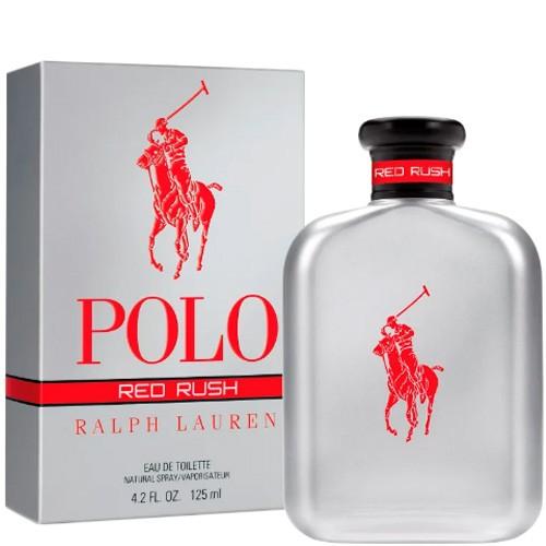 Polo Red Rush Ralph Lauren Eau de Toilette - Perfume Masculino 125ml