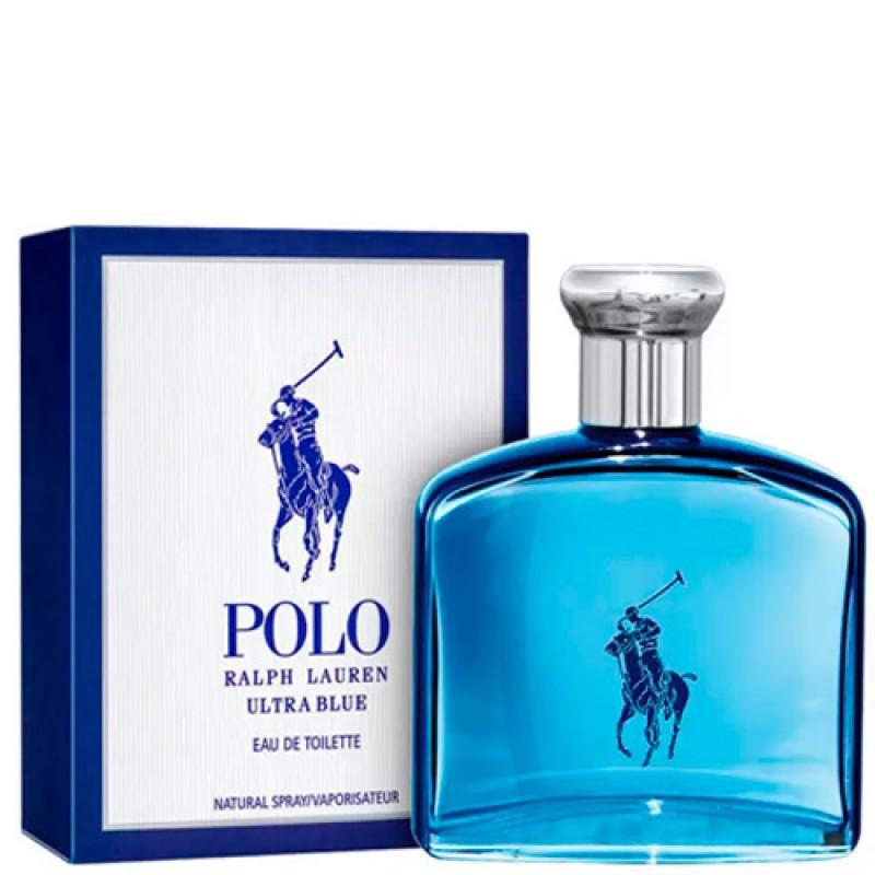 Polo Ultra Blue Ralph Lauren Eau de Toilette - Perfume masculino 125ml