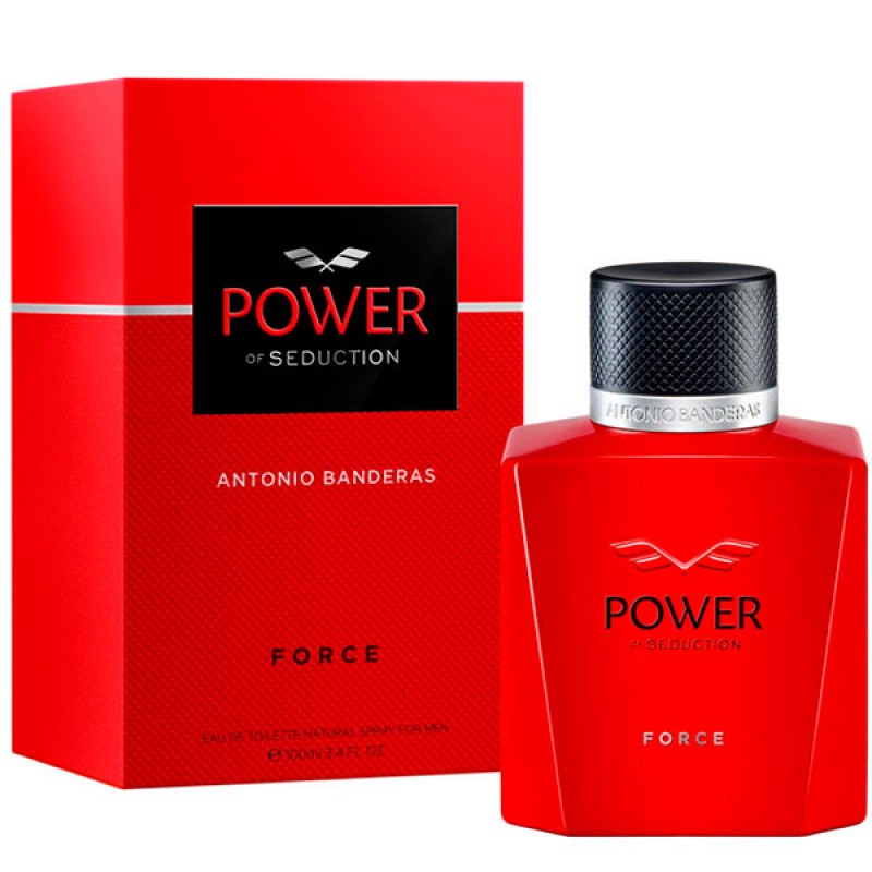 Power Force Eau de Toilette Antonio Banderas - Perfume Masculino 100ml