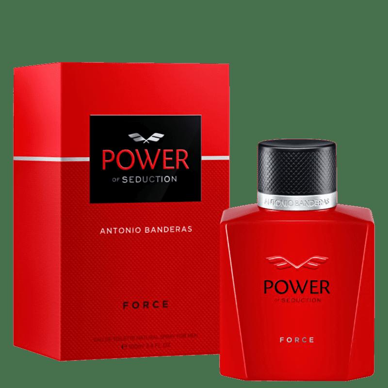 Power Force Eau de Toilette Antonio Banderas - Perfume Masculino 100ml