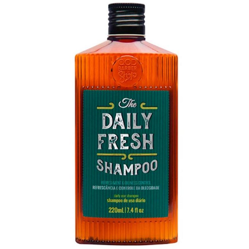 QOD Barber Shop Daily Fresh - Shampoo 220ml