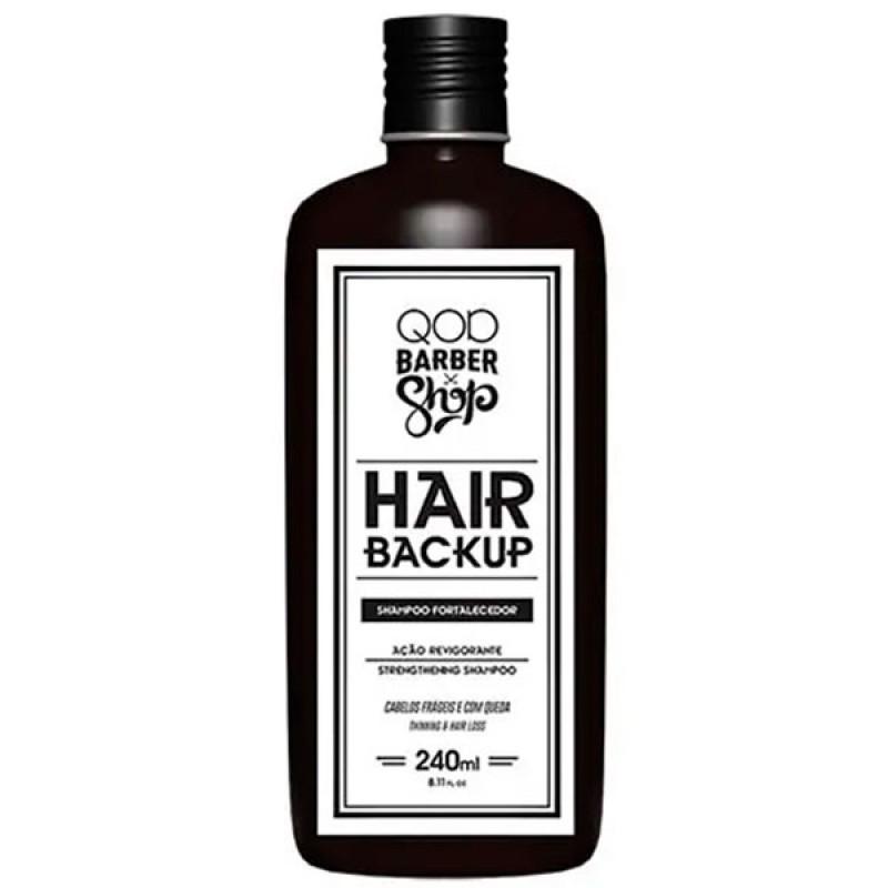QOD Barber Shop Hair Backup - Shampoo 240ml