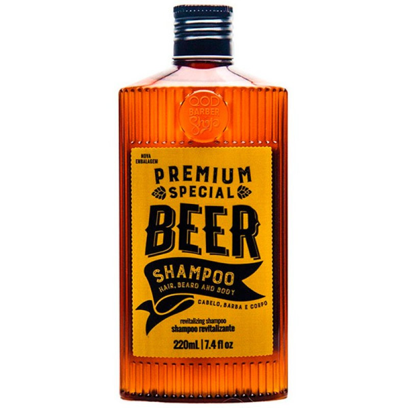 QOD Barber Shop Premium Special Beer - Shampoo 220ml