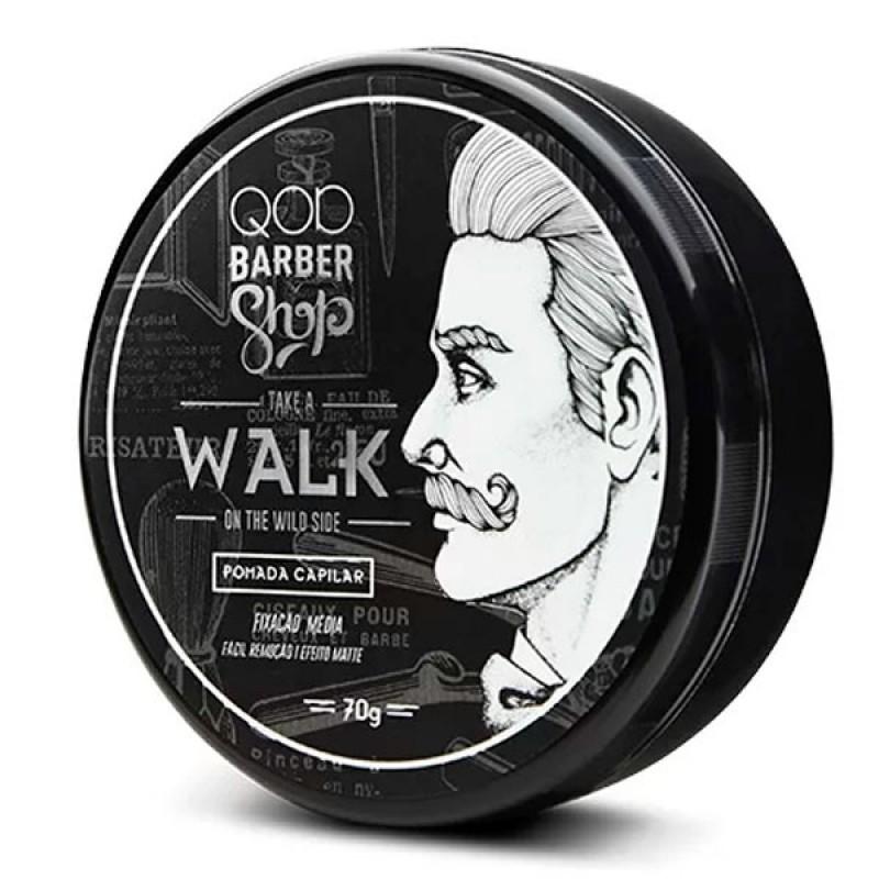 QOD Barber Shop Walk - Pomada Capilar 70gr