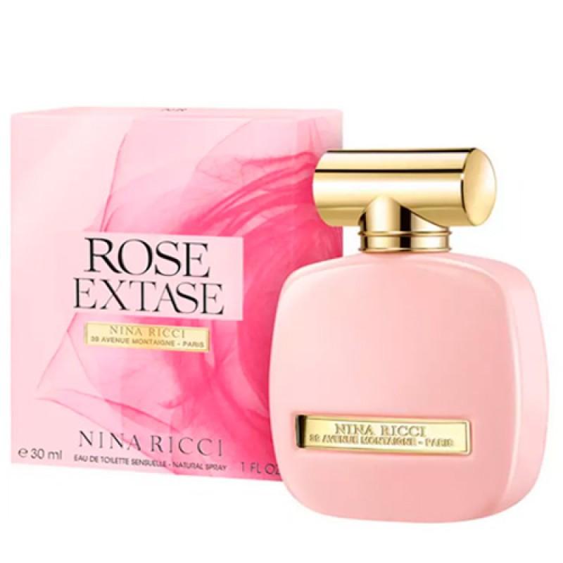 Rose Extase Nina Ricci Eau de Toilette - Perfume Feminino 30ml