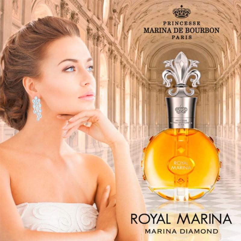 Royal Marina Diamond Marina de Bourbon Eau de Parfum - Perfume Feminino 30ml