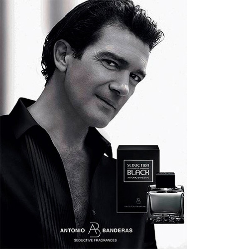 Seduction in Black Antonio Banderas Eau de Toilette - Perfume Masculino 100ml