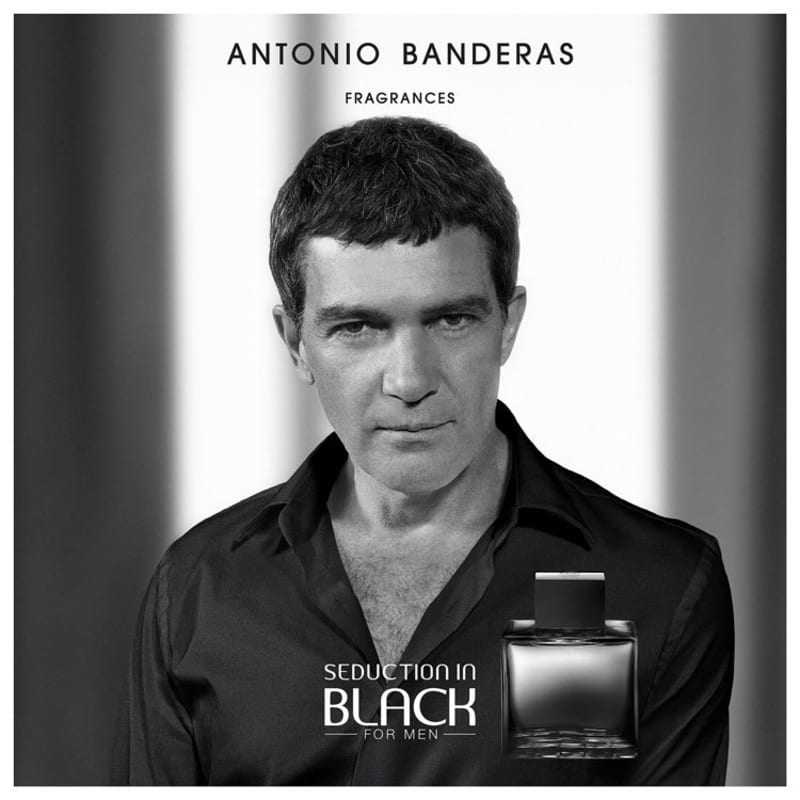 Seduction in Black Antonio Banderas Eau de Toilette - Perfume Masculino 50ml
