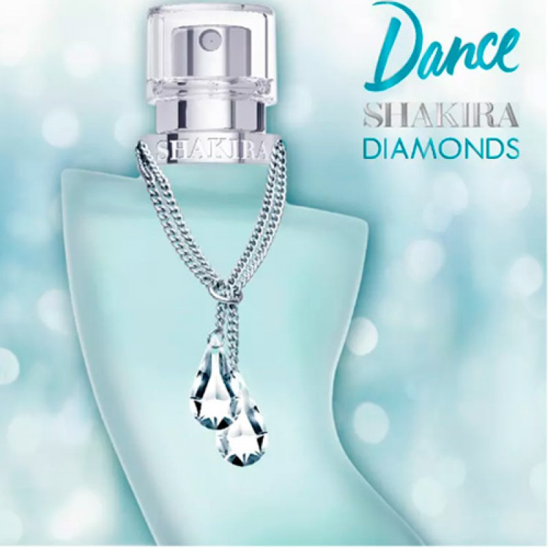 Shakira Dance Diamonds Eau de Toilette - Perfume Feminino 80ml