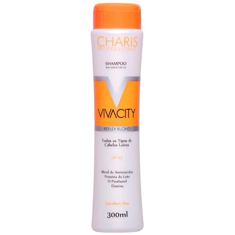 Shampoo Charis Vivacity para Cabelos Loiros