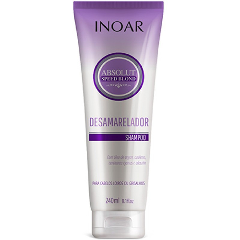 Shampoo Desamarelador Inoar Speed Blond 240ml