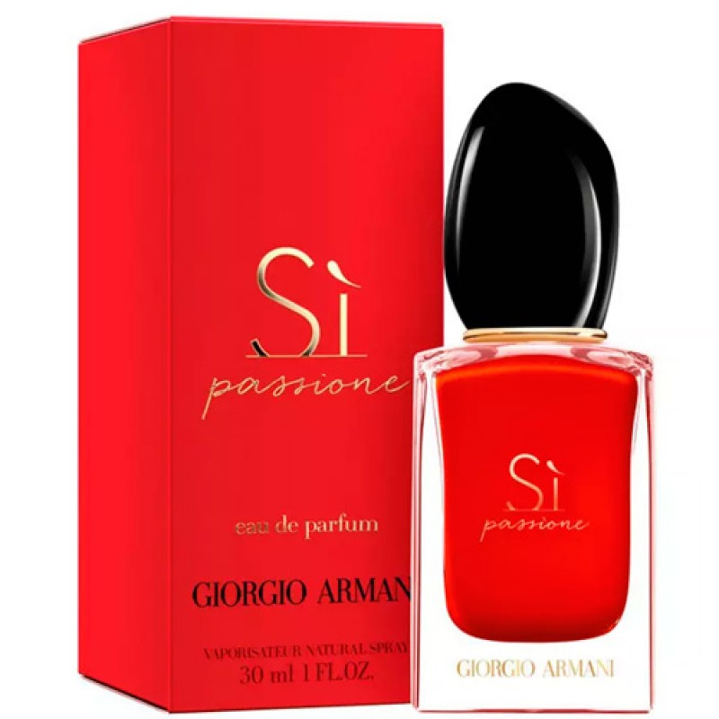 Sì Passione Giorgio Armani Eau de Parfum - Perfume Feminino 30ml
