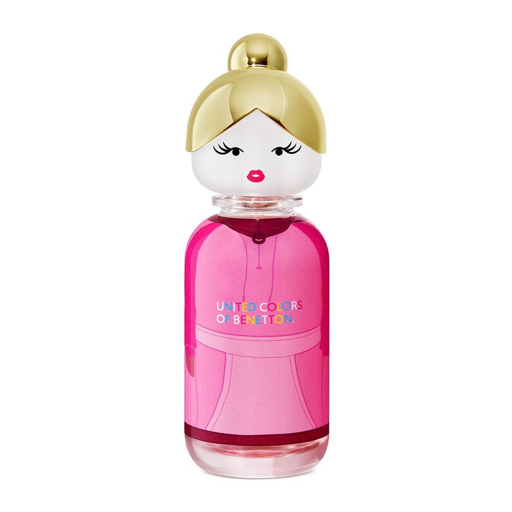 Sisterland Pink Raspberry Eau de Toilette United Colors of Benetton - Perfume Feminino 80ml