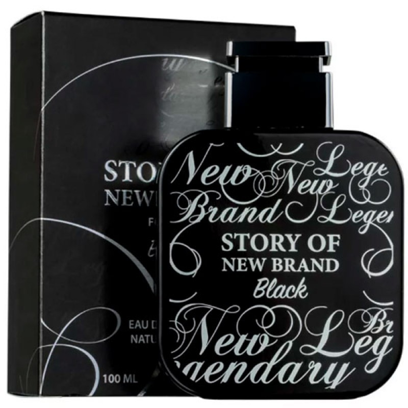 Story of New Brand Black Eau de Toilette - Perfume Masculino 100ml