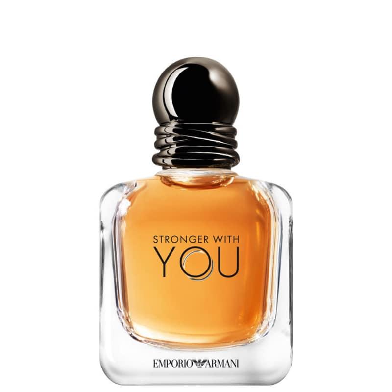 Stronger With You Eau de Toilette Giorgio Armani - Perfume Masculino 30ml