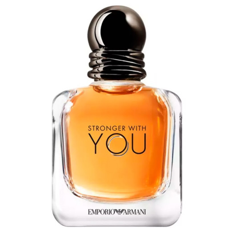 Stronger With You Giorgio Armani Eau de Toilette - Perfume Masculino 50ml