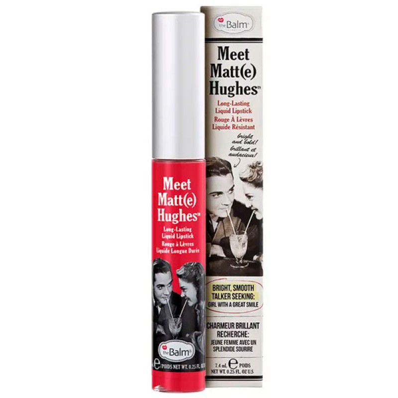 The Balm Batom Líquido Matte Hughes Devoted 7,4ml
